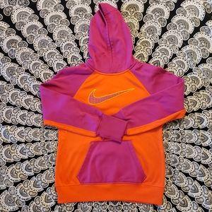 Nike Therma Fit Hot Pink & Orange Hoodie